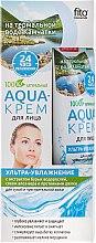Düfte, Parfümerie und Kosmetik Aqua-Gesichtscreme mit Braunalgenextrakt, Aloe Vera und Seidenprotein - Fito Kosmetik