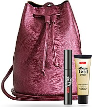 Düfte, Parfümerie und Kosmetik Kosmetikset - Pupa (Wimperntusche 9ml + Körper- und Gesichtsgel 25ml + Tasche)