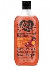 Düfte, Parfümerie und Kosmetik Erfrischendes und schimmerndes Duschgel mit Grapefruit - MonoLove Bio Grapefruit-Curacao Shower Glow Gel