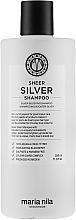 Düfte, Parfümerie und Kosmetik Neutralisierende Silber-Haarspülung für graues Haar - Maria Nila Sheer Silver Shampoo