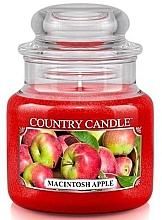 Düfte, Parfümerie und Kosmetik Duftkerze Macintosh Apple im Glas - Country Candle Macintosh Apple