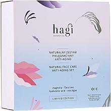 Düfte, Parfümerie und Kosmetik Gesichtspflegeset - Hagi Natural Face Care Anti-aging Set (Natürliche Gesichtscreme 30ml + Natürliches Gesichtselixier 30ml)