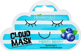 """Düfte, Parfümerie und Kosmetik Sauerstoff-Gesichtsmaske """"Merry Berry"""" - Bielenda Cloud Mask Merry Berry"""