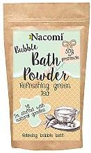 Düfte, Parfümerie und Kosmetik Erfrischendes Badepulver mit grünem Tee - Nacomi Bath Powder