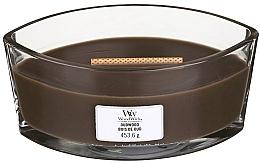 Düfte, Parfümerie und Kosmetik Duftkerze im Glas Outwood - Woodwick Hearthwick Flame Ellipse Candle Oudwood