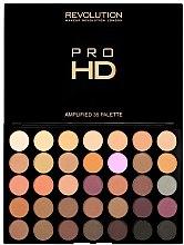 Düfte, Parfümerie und Kosmetik Lidschattenpalette - Makeup Revolution Pro HD Palette Amplified 35