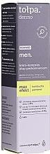 Düfte, Parfümerie und Kosmetik Gesichtscreme-Kompresse für die Nacht gegen Reizungen - Tolpa Dermo Men Max Effect Cream Compress