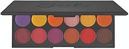 Düfte, Parfümerie und Kosmetik Lidschattenpalette - Sleek MakeUP iDivine Chasing The Sun Eyeshadow Palette