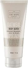 Düfte, Parfümerie und Kosmetik Körperpeeling mit natürlicher Hafermilch für verfeinerte und glatte Haut - Scottish Fine Soaps Oatmeal Body Scrub