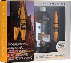 Düfte, Parfümerie und Kosmetik Make-up Set (Wimperntusche 10.7ml + Mizellenwasser 400ml) - Maybelline