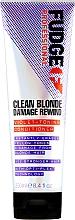 Düfte, Parfümerie und Kosmetik Farbneutralisierende Haarspülung gegen Gelbstich - Fudge Clean Blonde Damage Rewind Conditioner