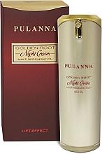 Düfte, Parfümerie und Kosmetik Multi regenerierende Nachtcreme für das Gesicht mit Lifting-Effekt - Pulanna Golden Root Multi-Regeneration Night Cream