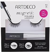 Düfte, Parfümerie und Kosmetik Make-up Set (Magnetischer Eyeliner 5ml + Künstliche Wimpern) - Artdeco Magnetic Eyeliner & Lashes Kit 11 Daily Dress