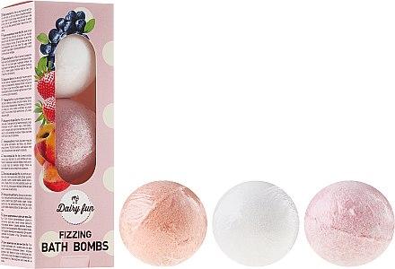 Badebomben - Delia Dairy Fun Milky Bath Balls