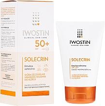Düfte, Parfümerie und Kosmetik Sonnenschutzemulsion für empfindliche und zu Allergie neigende Haut SPF 50+ - Iwostin Solecrin Emulsion SPF50+