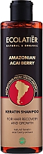 Düfte, Parfümerie und Kosmetik Keratin-Shampoo mit Acai-Beere Extrakt - Ecolatier Amazonian Acai Berry Shampoo