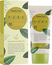 Düfte, Parfümerie und Kosmetik Anti-Falten BB Gesichtscreme mit Grüntee-Samen - FarmStay Green Tea Seed Pure Anti-Wrinkle BB Cream