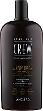 Düfte, Parfümerie und Kosmetik Tief feuchtigkeitsspendendes Shampoo für normales und trockenes Haar - American Crew Daily Deep Moisturizing Shampoo