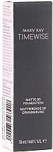 Düfte, Parfümerie und Kosmetik Mattierende 3D Grundierung - Mary Kay Timewise Matte 3D Foundation