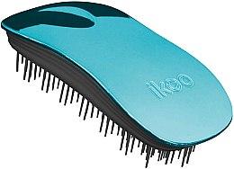 Düfte, Parfümerie und Kosmetik Haarbürste - Ikoo Home Pacific Metallic Black
