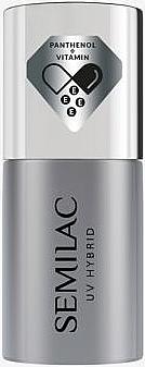 UV Hybrid-Nagelunterlack - Semilac UV Hybrid Sensitive Care Base