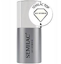 Düfte, Parfümerie und Kosmetik Top für UV Nagellacke - Semilac UV Hybrid