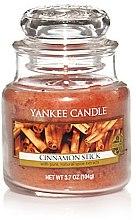 Düfte, Parfümerie und Kosmetik Duftkerze im Glas Cinnamon Stick - Yankee Candle Cinnamon Stick Jar