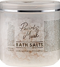 Düfte, Parfümerie und Kosmetik Badesalze - Hristina Cosmetics Sezmar Professional Pearl & Musk Bath Salts