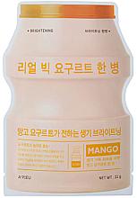 Düfte, Parfümerie und Kosmetik Gesichtsmaske mit Mango und Joghurtextrakt - A'Pieu Real Big Yogurt One-Bottle Mango