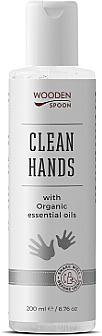 Pflegendes Hand-Desinfektionsmittel mit ätherischen Ölen - Wooden Spoon Natural Clean Hands