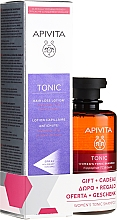 Düfte, Parfümerie und Kosmetik Haarpflegeset - Apivita Tonic (Haarlotion 150ml + Shampoo 250ml)