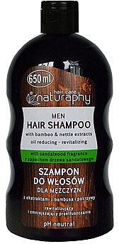 Shampoo mit Bambus und Brennnesselextrakt für Männer - Bluxcosmetics Naturaphy Bamboo & Nettle Extracts Man Shampoo