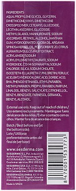 Liposomales Gesichtsserum mit Ferulasäure - SesDerma Laboratories Ferulac Serum — Bild N3