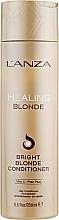 Düfte, Parfümerie und Kosmetik Heilende Haarspülung für natürlich blondes und aufgehelltes Haar - L'anza Healing Blonde Bright Blonde Conditioner
