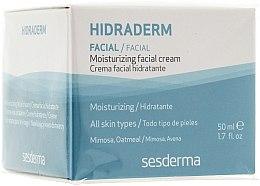 Düfte, Parfümerie und Kosmetik Feuchtigkeitsspendende Gesichtscreme - SesDerma Laboratories Hidraderm Facial Cream