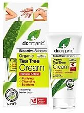 Düfte, Parfümerie und Kosmetik Beruhigende Körpercreme mit Teebaum - Dr. Organic Bioactive Skincare Tea Tree Cream