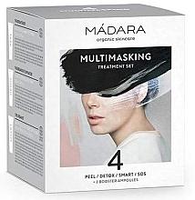 Düfte, Parfümerie und Kosmetik Gesichtspflegeset - Madara Cosmetics Multimasking Treatment Set (Gesichtsmaske 4x12,5ml + Gesichtsampulle 2x3ml )