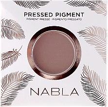 Düfte, Parfümerie und Kosmetik Matte Lidschatten - Nabla Pressed Pigment Feather Edition Matte Refill Eyeshadow (Austauschbarer Pulverkern)