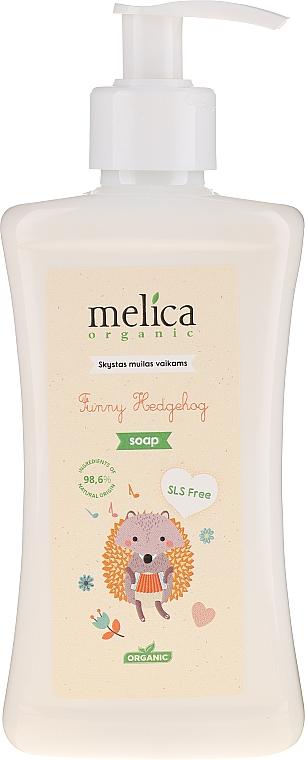 Flüssige Kinderseife Igel - Melica Organic Funny Hedgehog Liquid Soap