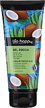Düfte, Parfümerie und Kosmetik Duschgel mit Kokoswasser und Aloe - Bio Happy Shower Gel Coconut Water And Aloe