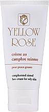 Düfte, Parfümerie und Kosmetik Spezielle pflegende und beruhigende Gesichtscreme für fettige und zu Akne neigende Haut - Yellow Rose