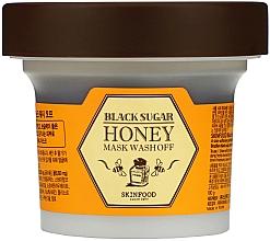 Düfte, Parfümerie und Kosmetik Gesichtsmaske mit schwarzem Zucker und Honig - SkinFood Black Sugar Honey Mask Wash Off