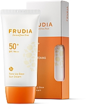Düfte, Parfümerie und Kosmetik Sonnenschutzcreme für das Gesicht SPF 50+ PA+++ - Frudia Tone Up Base Sun Cream SPF50