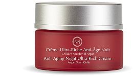 Düfte, Parfümerie und Kosmetik Anti-Aging Nachtcreme mit Arganstammzellen - Innossence Regenessent Anti-Aging Night Ultra-Rich Cream