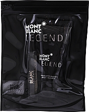 Düfte, Parfümerie und Kosmetik Montblanc Legend - Duftset (Eau de Toilette 7.5ml + After Shave Balsam 50ml + Kosmetiktasche)