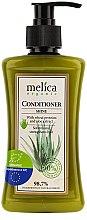 Düfte, Parfümerie und Kosmetik Haarspülung für mehr Glanz mit Weizenprotein und Aloe Vera-Extrakt - Melica Organic Shine Conditioner