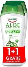 Düfte, Parfümerie und Kosmetik Haarpflegeset - Equilibra Aloe (Shampoo 2x250ml)