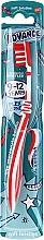 Düfte, Parfümerie und Kosmetik Kinderzahnbürste weich 9-12 Jahre rot-weiß - Aquafresh Advance Soft