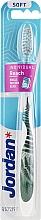 Düfte, Parfümerie und Kosmetik Zahnbürste weich Individual Reach weiß mit Farn - Jordan Individual Reach Soft