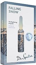 Düfte, Parfümerie und Kosmetik Aufhellende Gesichtsampullen Falling Snow - Dr. Spiller White Effect Falling Snow The Brightening Ampoule
